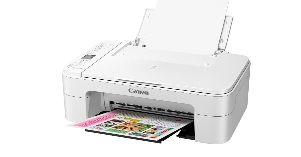 Canon PIXMA wireless all-in-one printer for $19