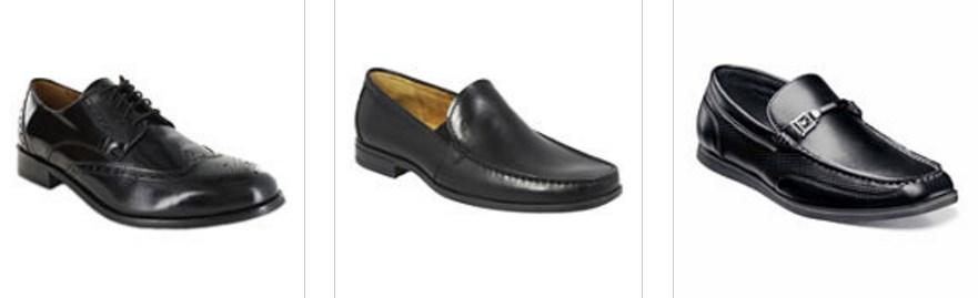 Men's dress shoes under $35 at JC Penney