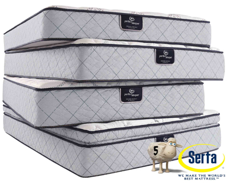 Queen Serta Sertapedic Chiswick firm mattress for $164 + $70 shipping