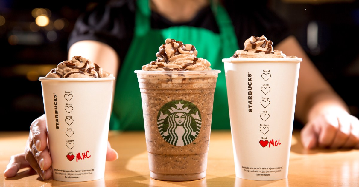 Free $15 eGift card with any Starbucks purchase of $50 or more