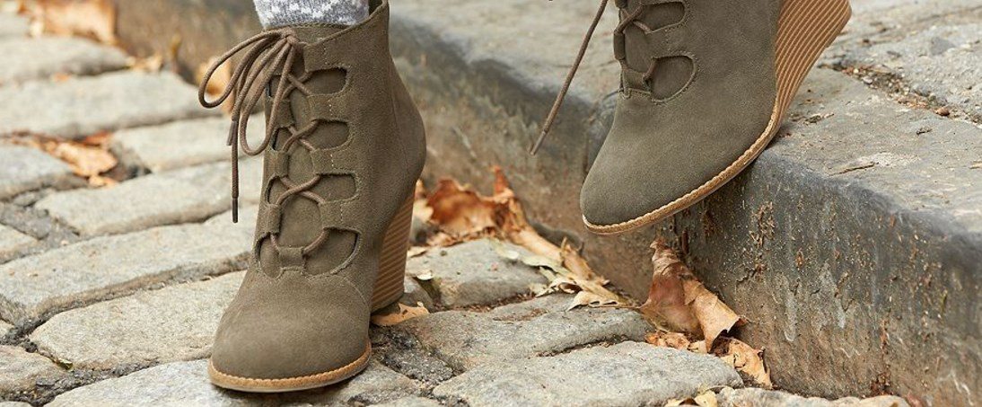 Boots under $20 at 6pm, free shipping with 2+ items