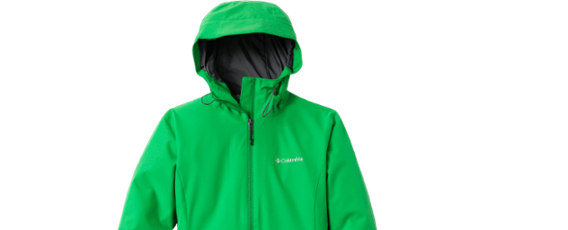 Columbia Thimbleberry women's rain jacket for $37