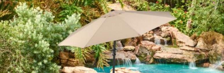 Price drop! 9-foot outdoor patio umbrellas for $25