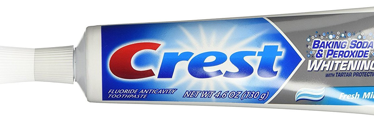 Crest baking soda & peroxide whitening toothpaste for $2 after coupon