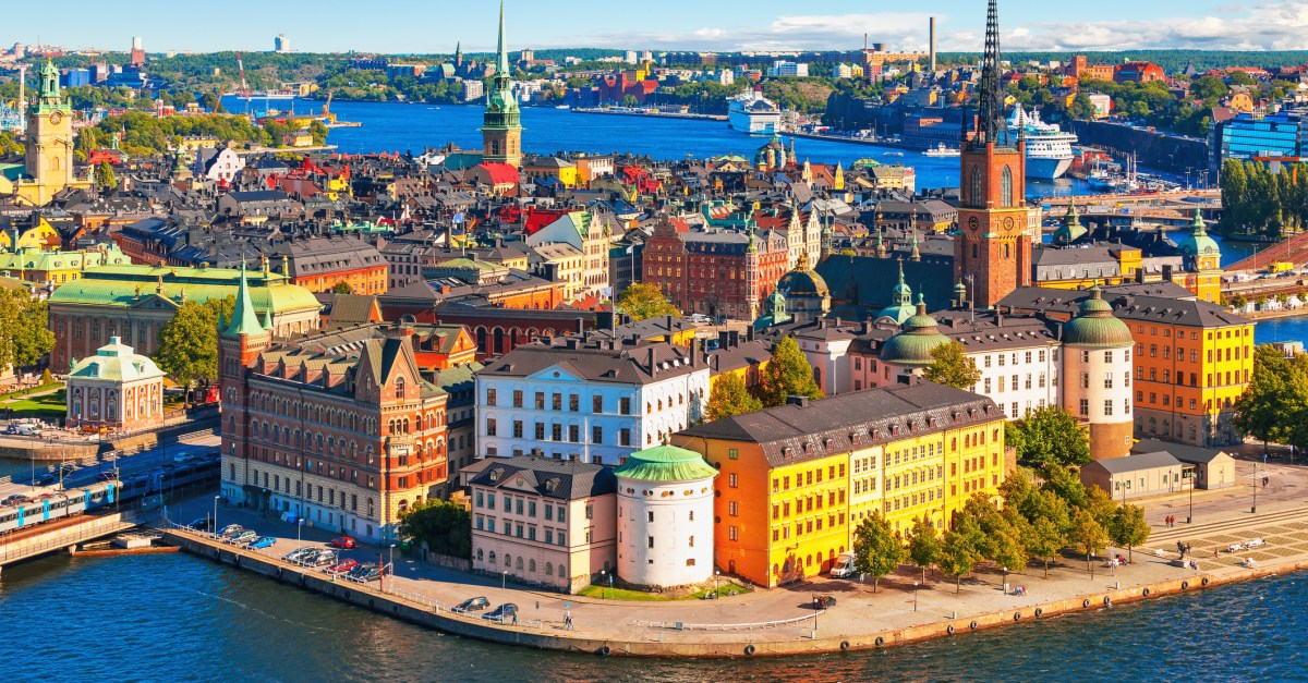 Flights to Sweden in the $300s & $400s round-trip