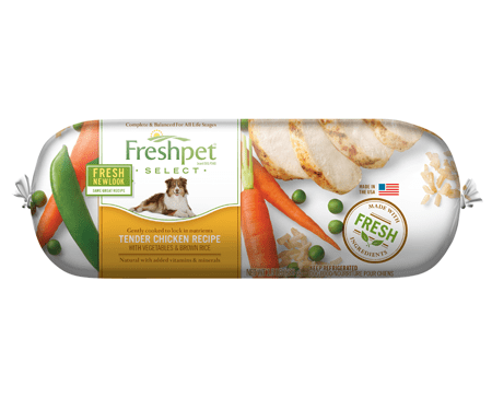 Free Freshpet Select 1lb dog food from Jet