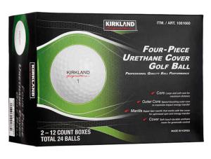 kirkland signature golf balls