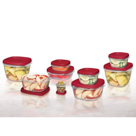 Rubbermaid 24-piece easy find lids storage container set for $10