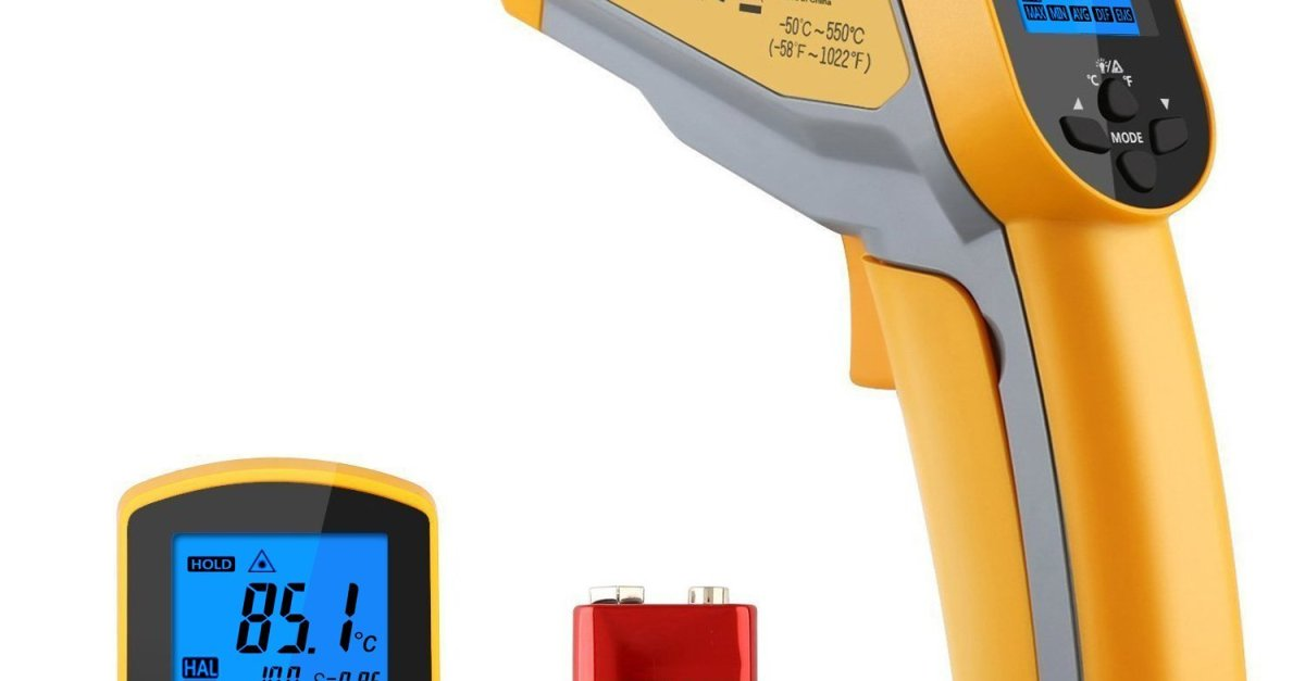 Tacklife digital infrared thermometer for $8