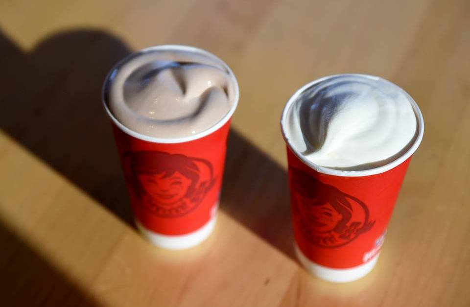 Get a small frosty for only 50 cents at Wendy's!