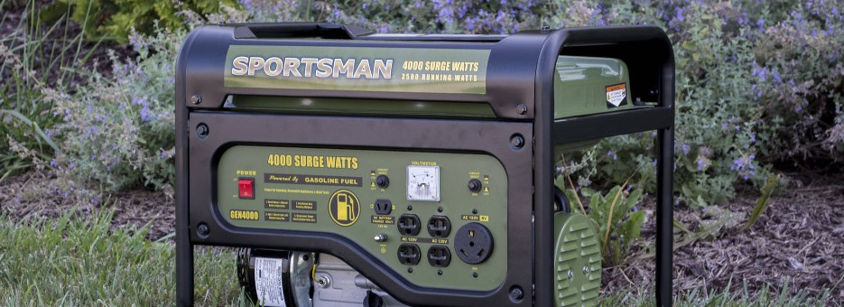 Sportsman gasoline 4000W portable generator for $249