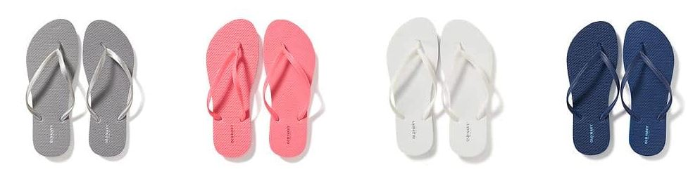 Today only: Flip-flops are just $1 at Old Navy!