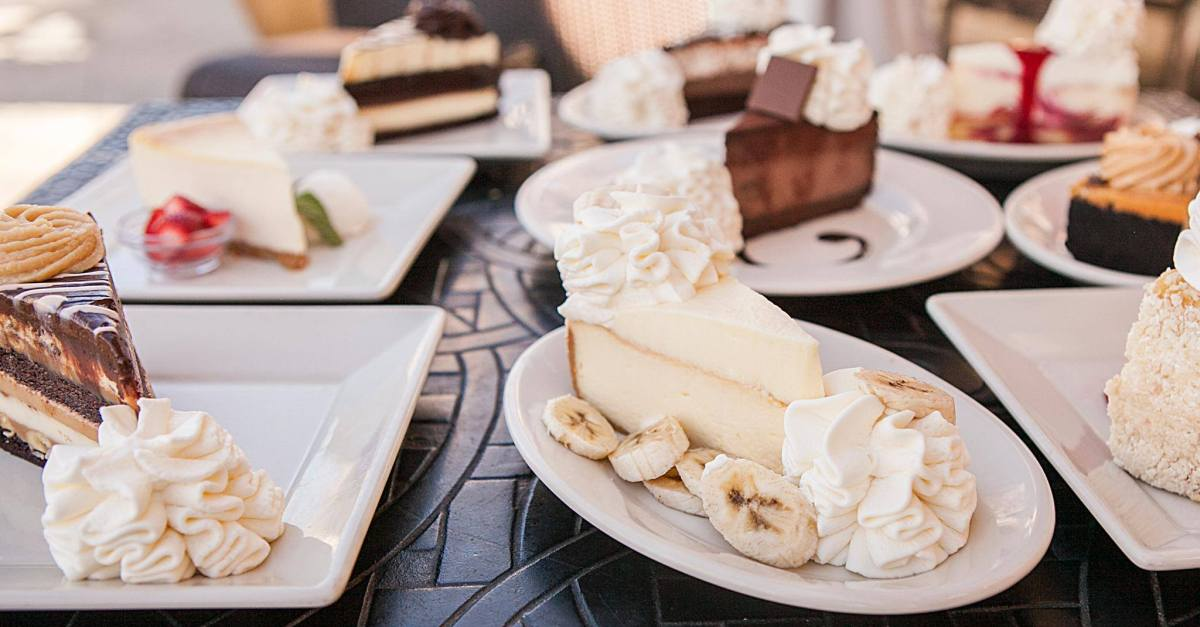 The Cheesecake Factory: Get 1/2 price cheesecake TODAY for National Cheesecake Day!