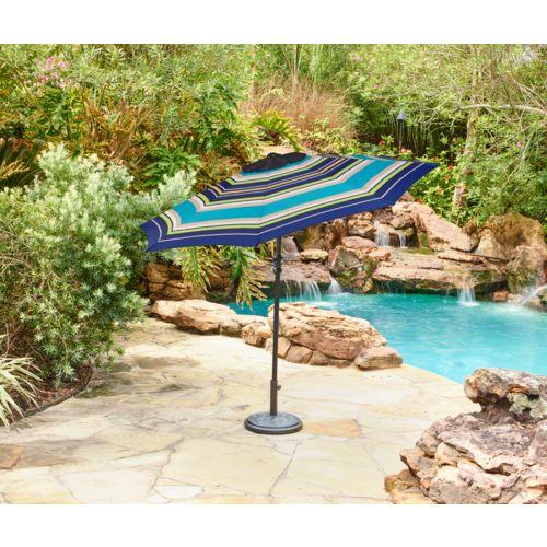 9-foot Mosaic round market umbrella for $25 shipped