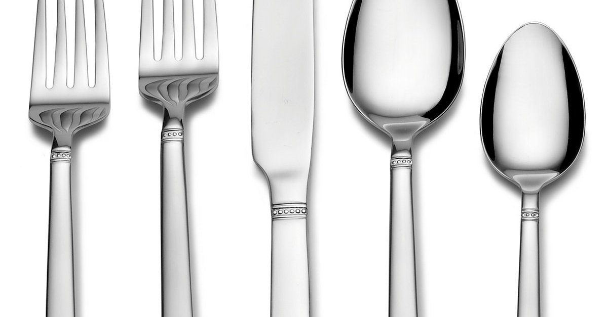 International Silver stainless steel 51-piece silverware sets for $30