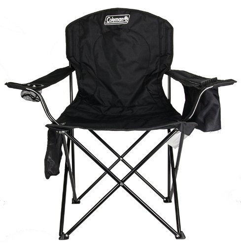 While supplies last: Coleman oversized quad chair with cooler for $18