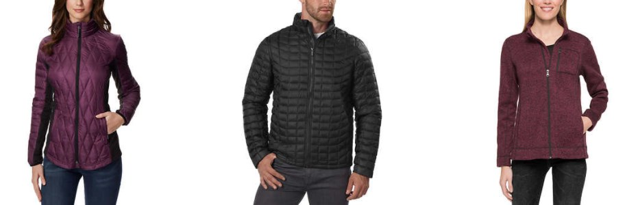 Men's and women's jackets under $30 at Costco