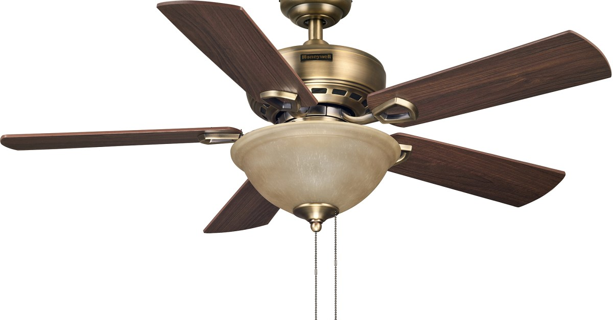 Honeywell 44 blaise antique brass ceiling fan for 34 clark deals honeywell 44 blaise antique brass ceiling fan for 34 expired deal aloadofball Images