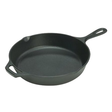 Lodge 10.25-inch pre-seasoned cast iron skillet for $14