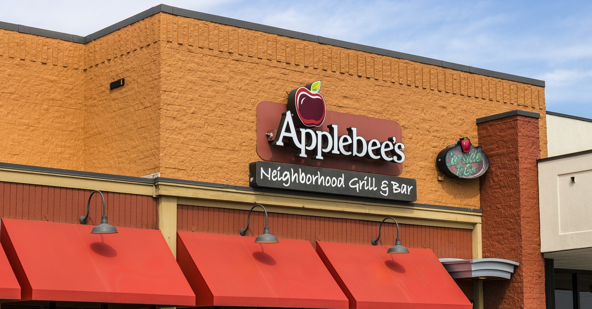 $50 Applebee's gift card for $40 today
