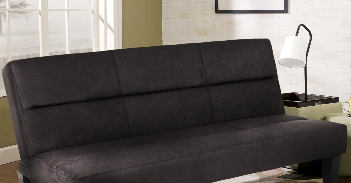 Price drop! Best Choice Products microfiber futon folding couch sofa for $100
