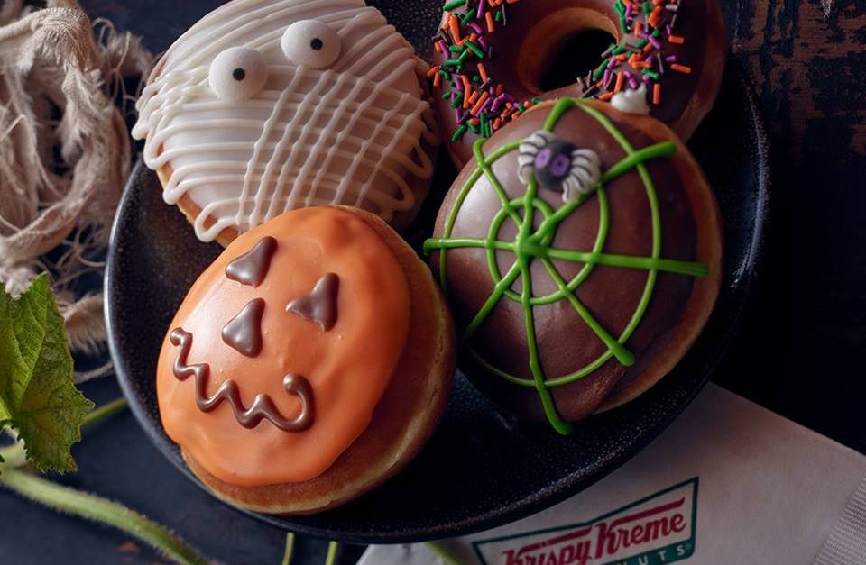 Rewards members: Get a FREE Halloween doughnut at Krispy Kreme via app!