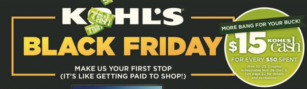 Kohl's official Black Friday ad: The best deals!