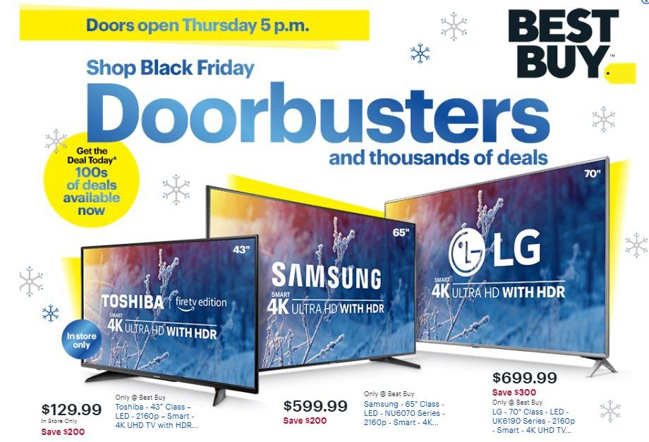 The Best Buy Black Friday ad is here! See the best deals