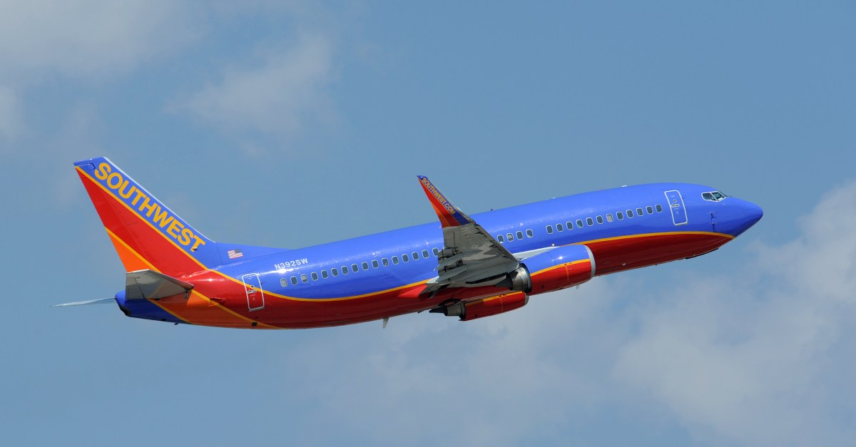 Southwest Airlines Rapid Rewards members: Enjoy double points from now through June 13