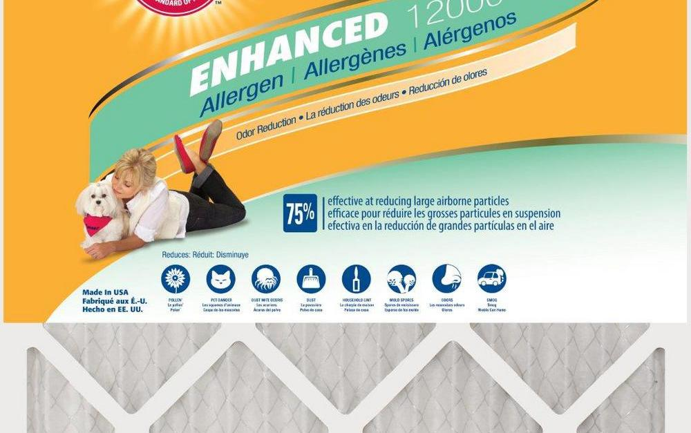 Today only: 12-pack Arm & Hammer air filters for $55