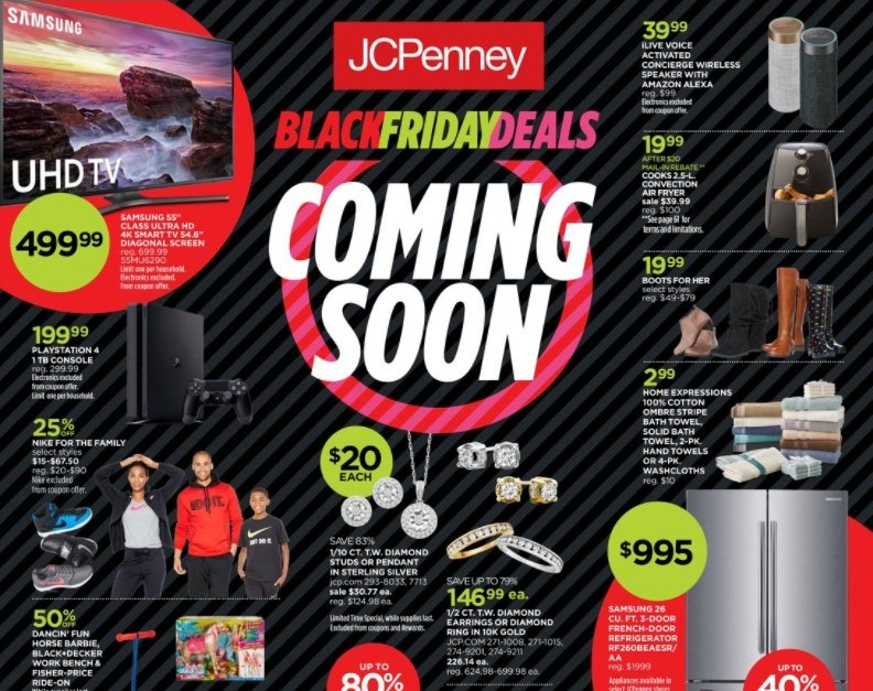 J.C. Penney's Black Friday ad: The best deals