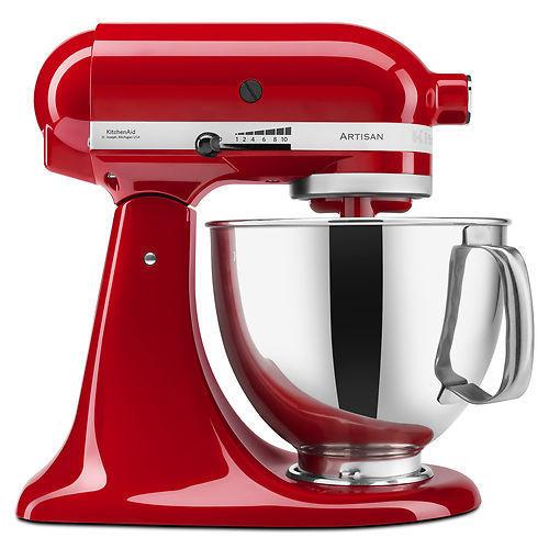 Factory refurbished 5-quart KitchenAid stand mixer for $179