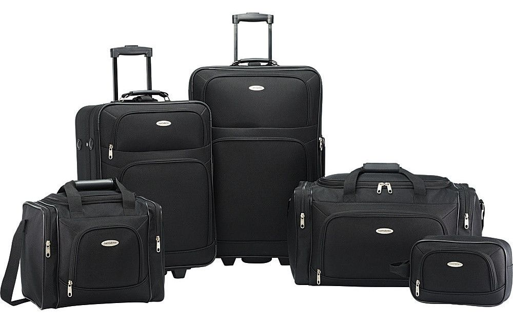 Price drop! Samsonite Nobscot 5-piece luggage set for $90, free shipping