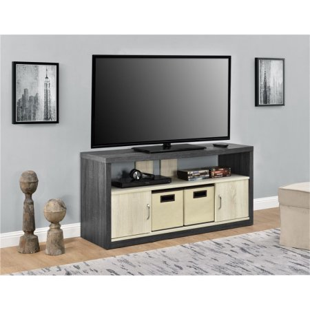Altra Winlen 50″ TV stand with 2 bins for $69