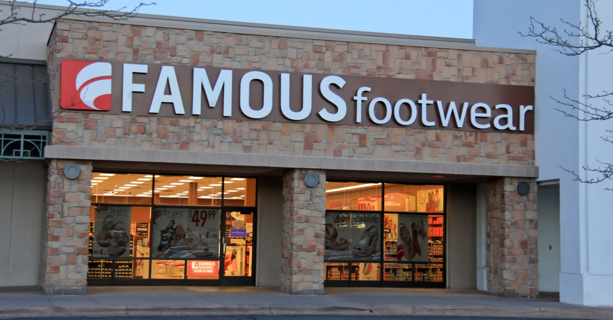 Famous Footwear coupon: Save $10 on a purchase of $50 or more