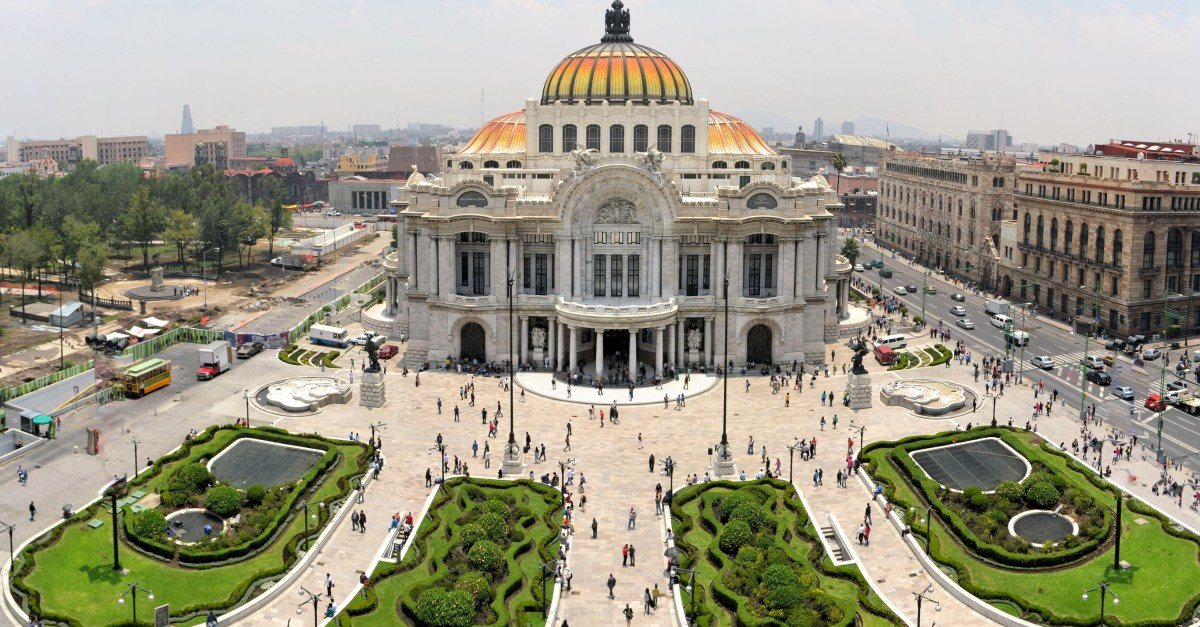 Flights to Mexico City in the $200s & $300s round-trip