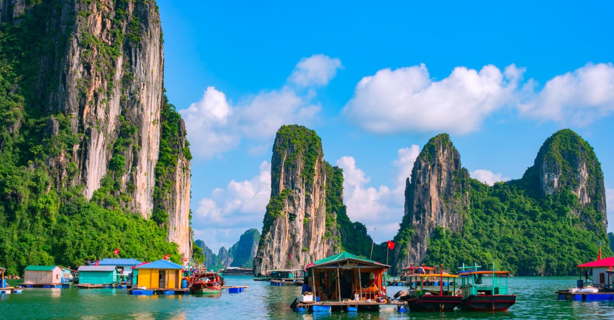 Round-trip flights to Vietnam and Singapore from the $400s