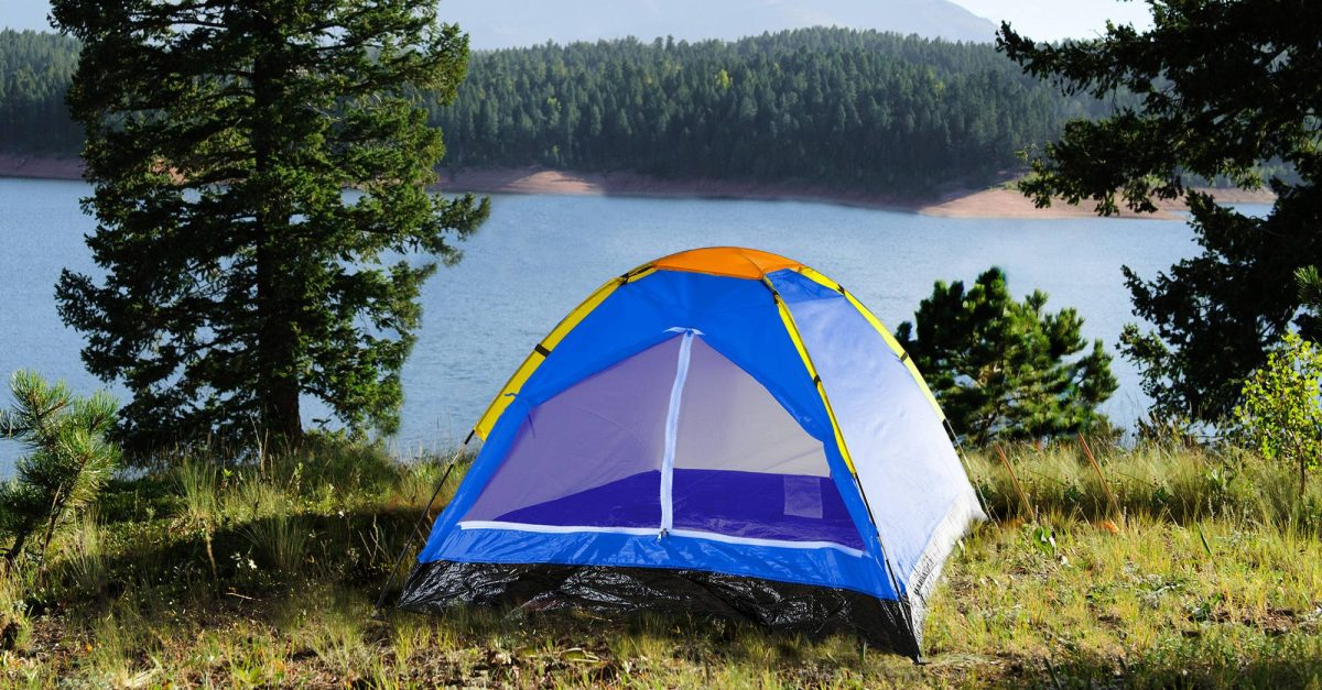 Clearance tents at Walmart from $14