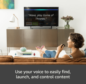 amazon fire 4k alexa