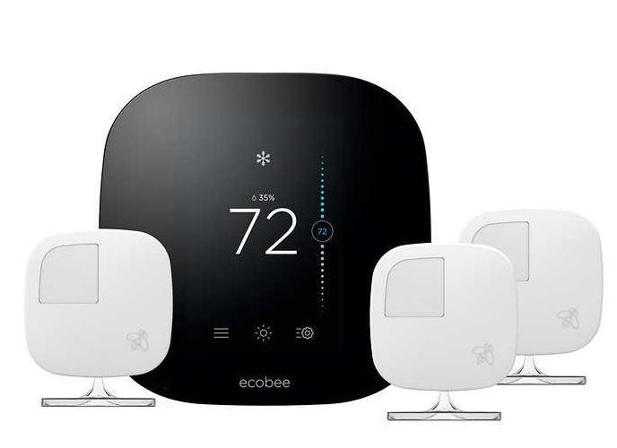 Costco members: Ecobee3 Smart Wi-Fi Thermostat + sensors for $179.99