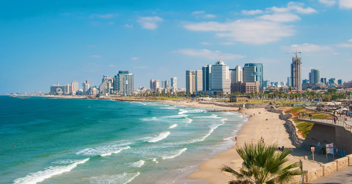 Flights to Tel Aviv in the $600s round-trip