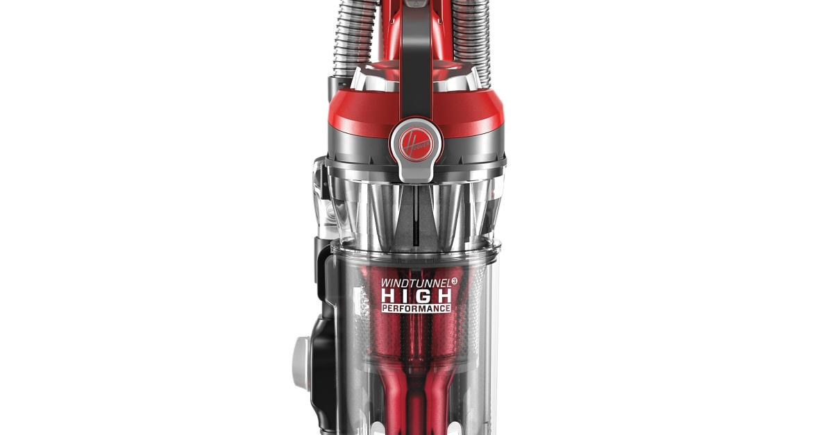 Hoover high performance bagless upright vacuum cleaner (refurbished) for $32, free shipping