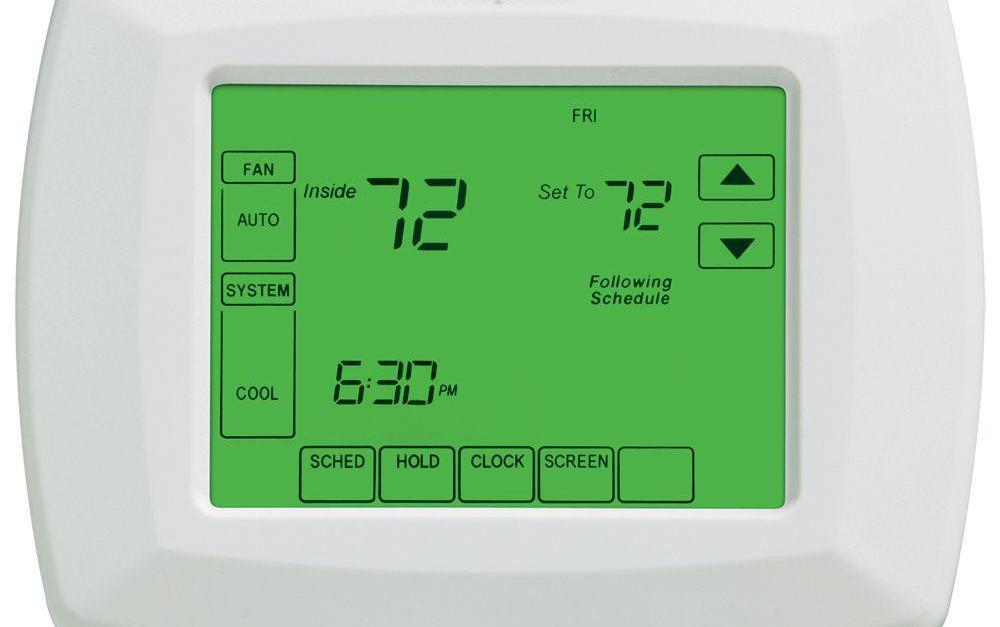 Honeywell 7-day universal touchscreen programmable thermostat for $39