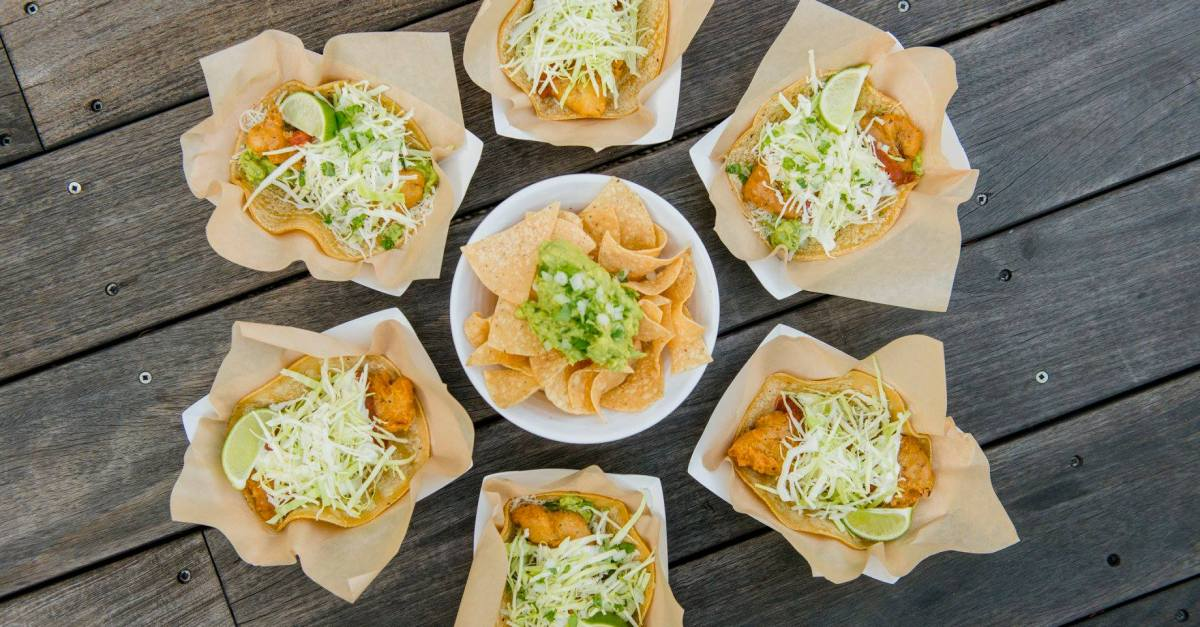 Today only: Free chips & guac with any purchase at Rubio's Coastal Grill