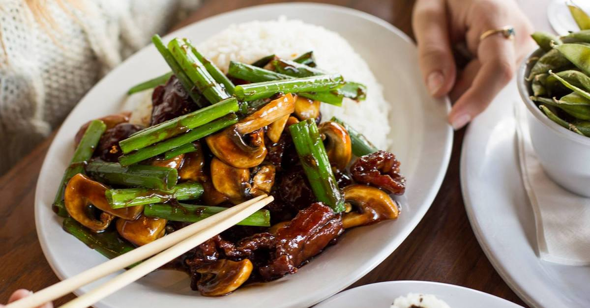 Get 50% off all online entrée orders at Pei Wei