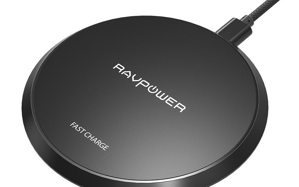 Today only: RAVPower standard QI wireless smartphone charging pad for $9