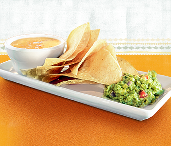 On The Border: $1 queso & guacamole duo with purchase today!