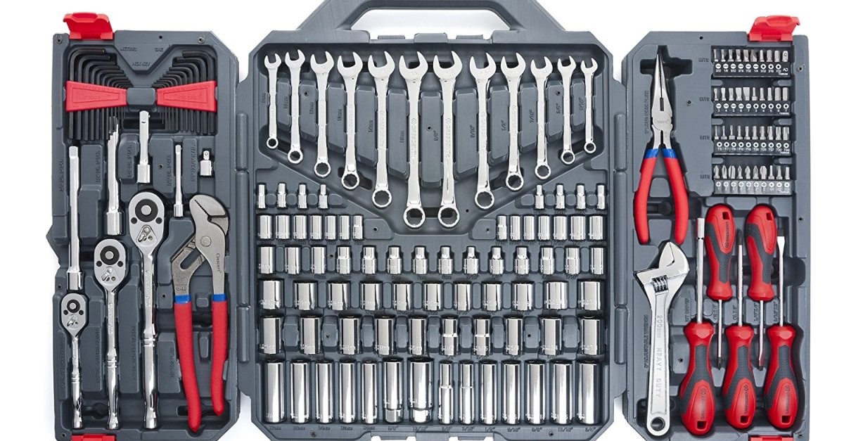 Today only: 170-piece Crescent mechanics tool set for $78