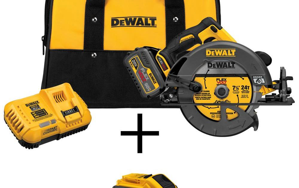 Today only: Save up to $250 on Dewalt power tools