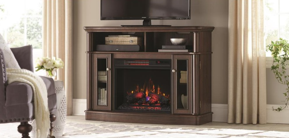 Today only: Electric fireplaces from $110 at The Home Depot